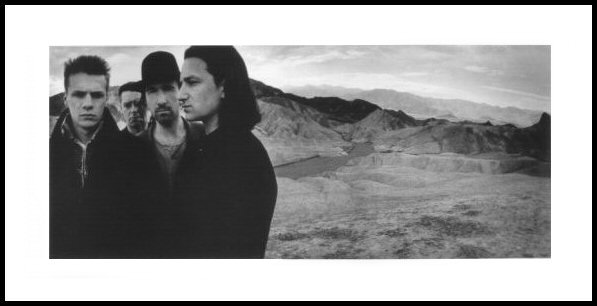 U2 Lithographs